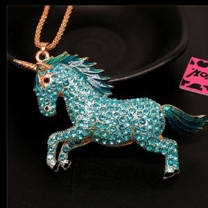 Betsey Johnson Unicorn Necklace